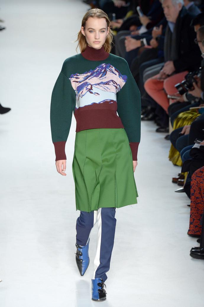 Покорители вершин: показ Emilio Pucci на Неделе моды в Милане