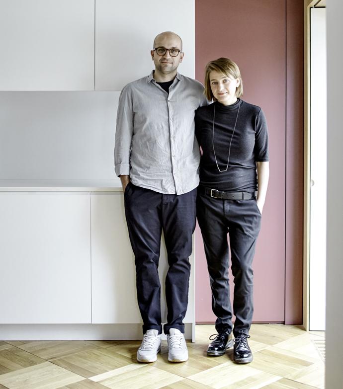 Авторы проекта: Иван и Наталия Трофимовы, бюро Blockstudio
