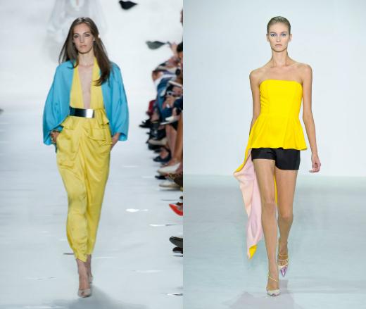 Показы Diane Von Furstenberg и Christian Dior