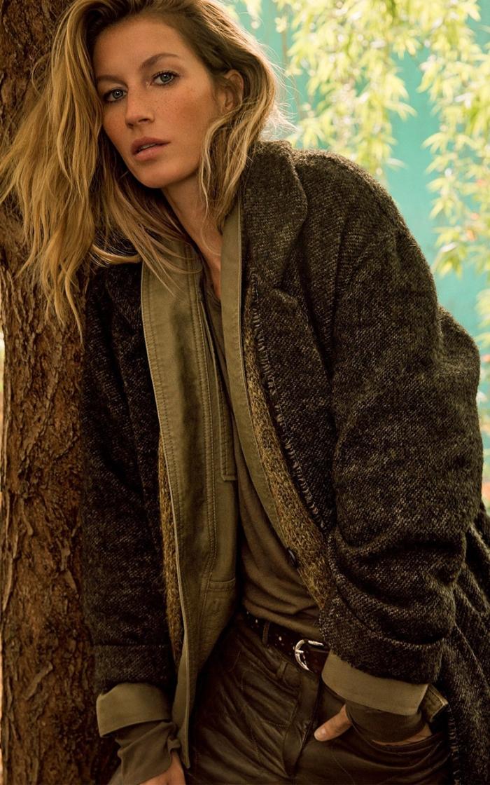 Бразильская модель Жизель Бундхен: фото 2014