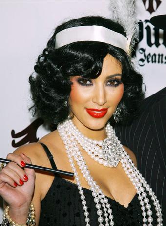 Образ Ким Кардашьян в стиле Великого Гэтсби