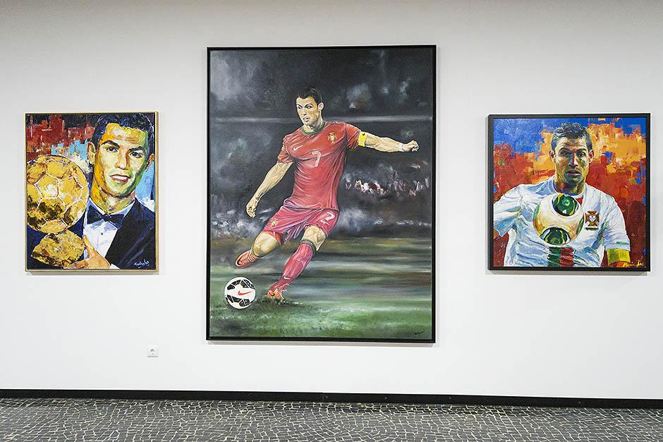 Экспозиция музея Криштиану Роналду