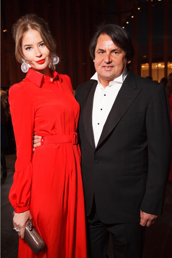 Алена Гаврилова с экс-супругом Рустамом Тарико