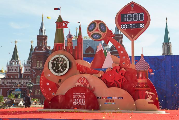 Hublot и FIFA запустили обратный отсчет времени до Чемпионата мира по футболу в 2018 году