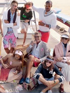 Рекламная кампания Tommy Hilfiger весна-лето 2011