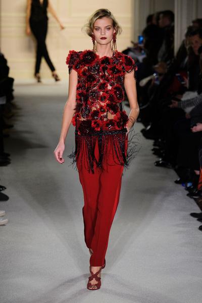 Показ Marchesa на Неделе моды в Нью-Йорке | галерея [1] фото [30]