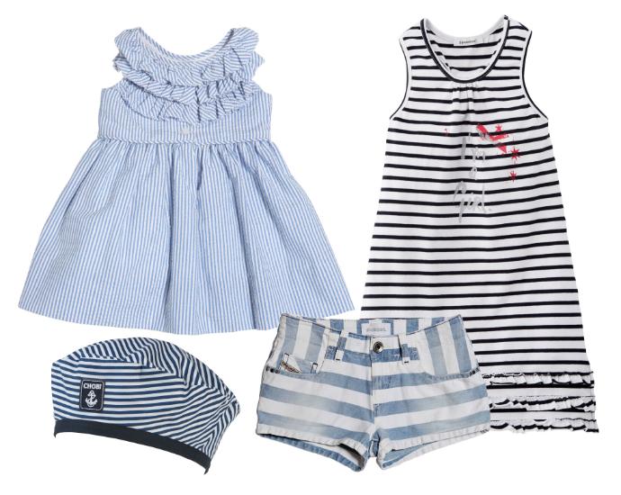 Выбор ELLE : Платье Ralph Lauren, берет Chobi, платье 3 Pommes, шорты Diesel