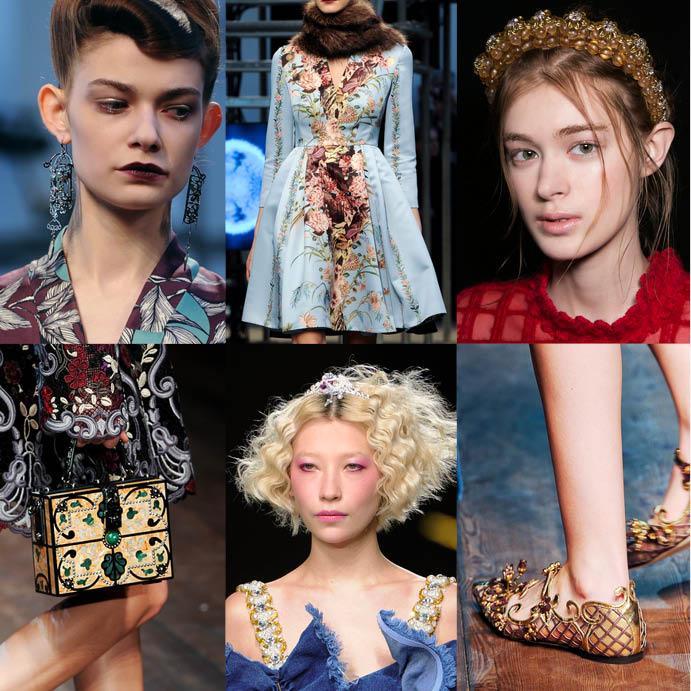 Детали с показов Antonio Marras, Simone Rocha, Dolce&Gabbana, Ashish
