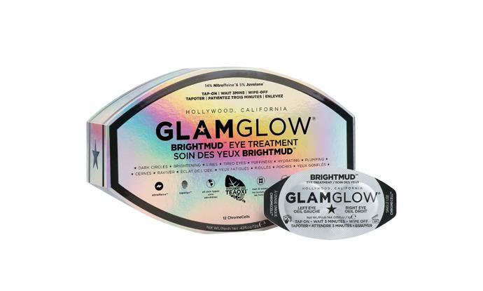Маска для кожи вокруг глаз Bright Mud Eye Treatment , Glam Glow