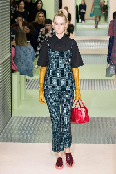 Показ Prada на Неделе моды в Милане | галерея [1] фото [20]