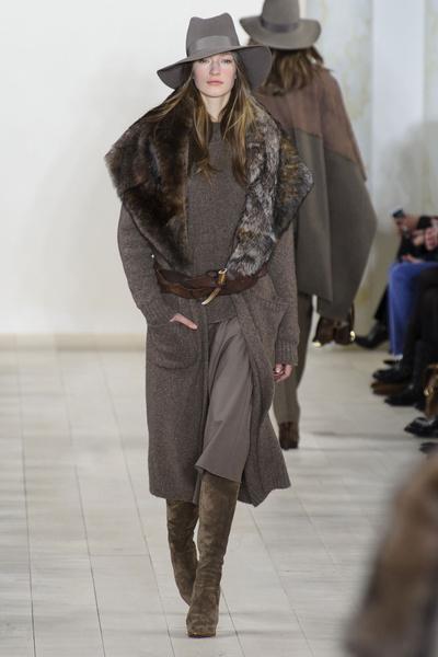 Показ Ralph Lauren на Неделе моды в Нью-Йорке | галерея [1] фото [33]