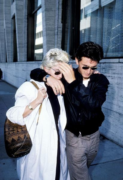 Мадонна и Шон Пенн