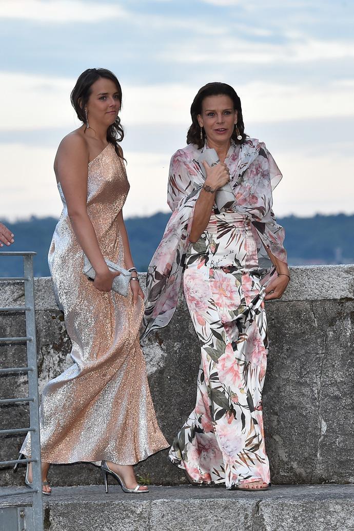 Принцесса Монако Стефания с дочерью Полин Дюкре