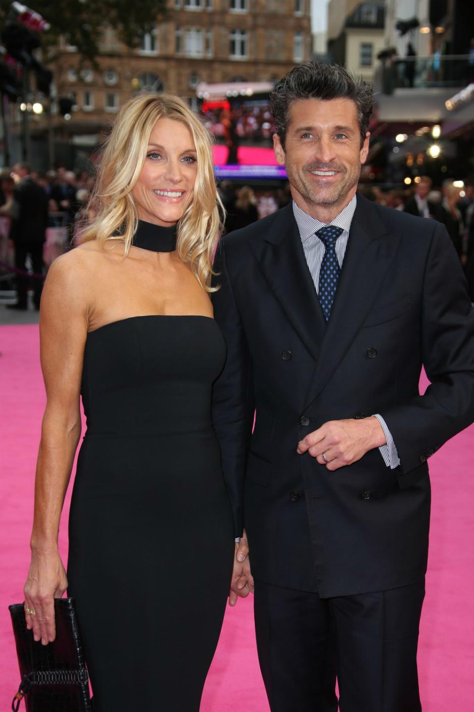 Патрик Демпси с женой