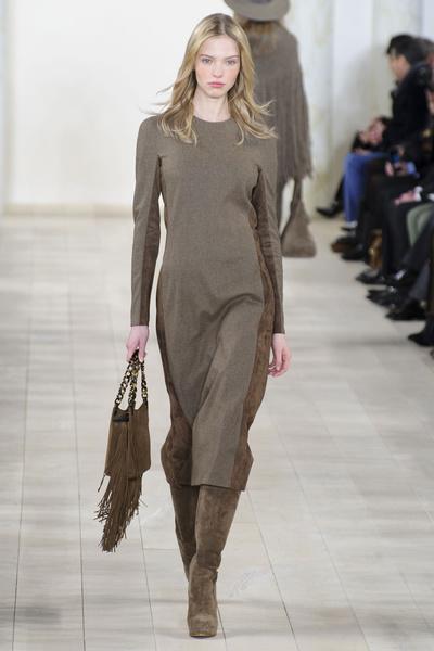 Показ Ralph Lauren на Неделе моды в Нью-Йорке | галерея [1] фото [36]