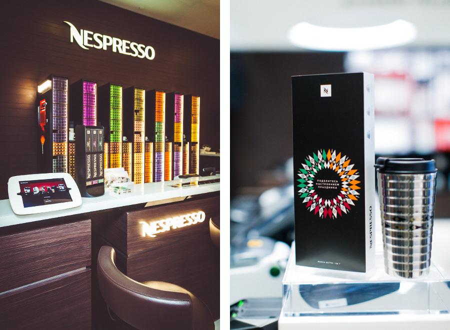 Новые бутики Nespresso в Москве