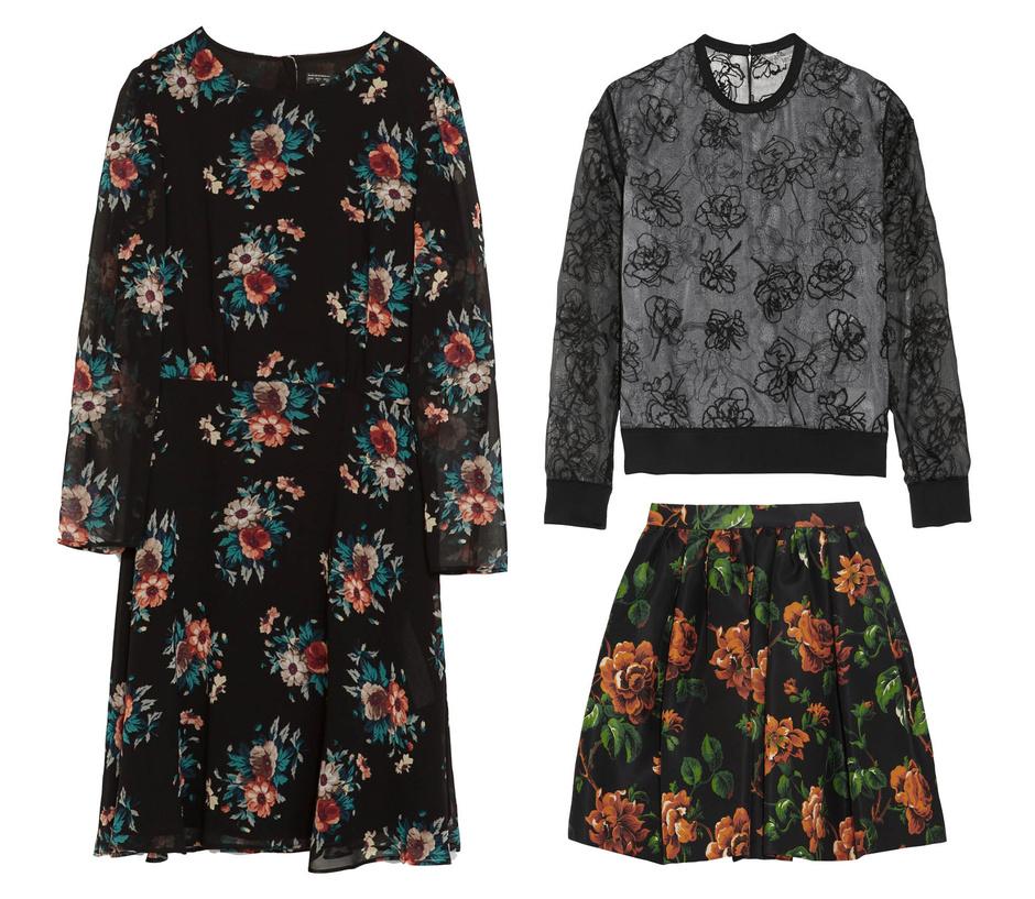 Топ Reed Krakoff, платье Zara, юбка Miu Miu