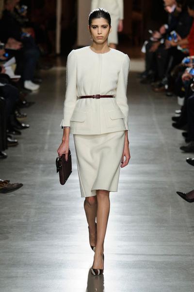 Показ Oscar de la Renta на Неделе моды в Нью-Йорке | галерея [1] фото [32]