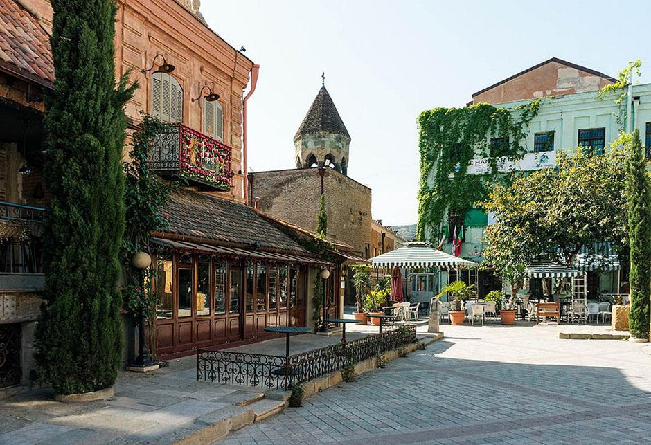 1. Тбилиси, Старый город