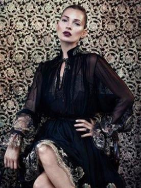 Кейт Мосс в рекламном видео Salvatore Ferragamo