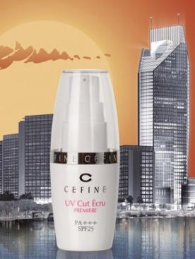 Cefine UV Cut Ecru