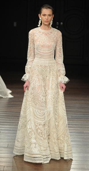 Лучшие коллекции Недели свадебной моды | галерея [5] фото [17]