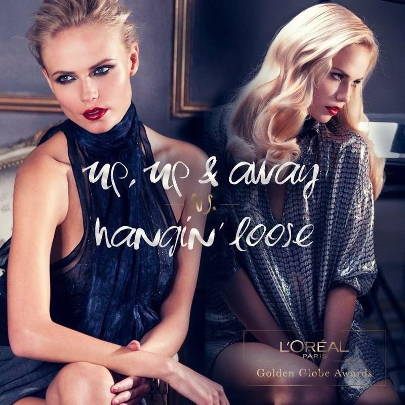 Наташа Поли в рекламной кампании L'Oréal Paris
