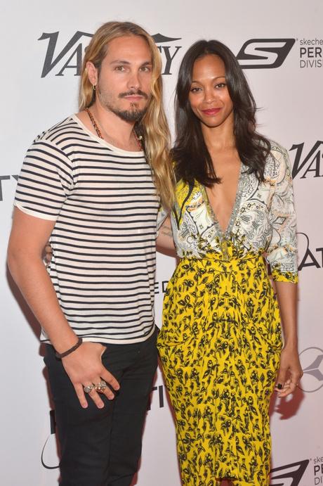 Зои Салдана с мужем: фото