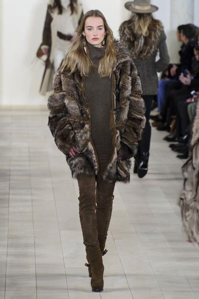 Показ Ralph Lauren на Неделе моды в Нью-Йорке | галерея [1] фото [27]