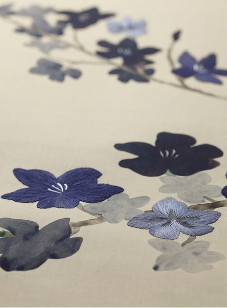Компания de Gournay выпустила обои с вышивкой | галерея [1] фото [6]