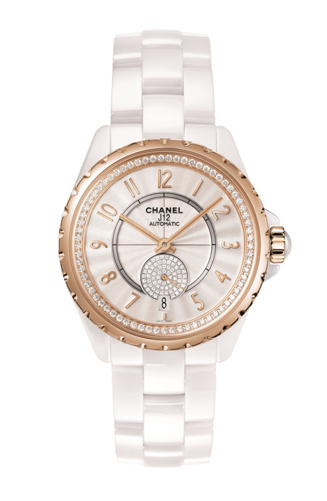 белые часы chanel j12 – 365