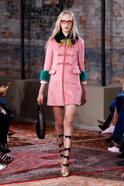 Дом Gucci представил новую круизную коллекцию 2016 | галерея [2] фото [2]