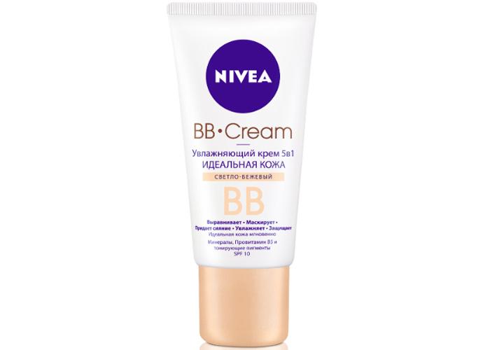 Увлажняющий BB-крем 5-в-1 «Идеальная кожа» SPF 10 от Nivea