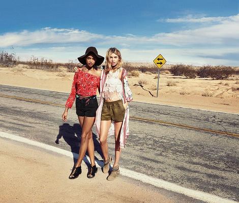 Фестивальная коллекция H&M Loves Coachella | галерея [1] фото [13]