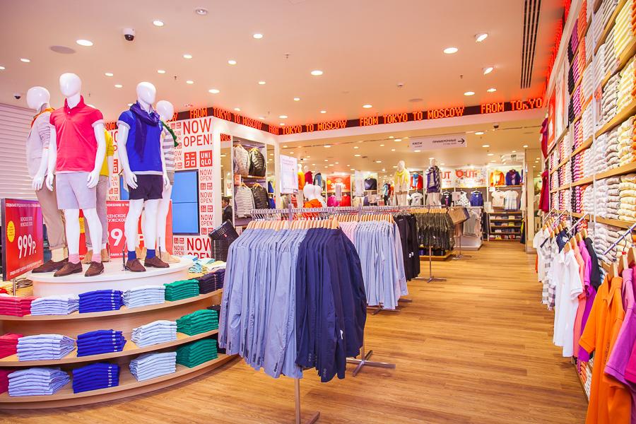 Uniqlo открывает новый магазин в ТРЦ «Колумбус»