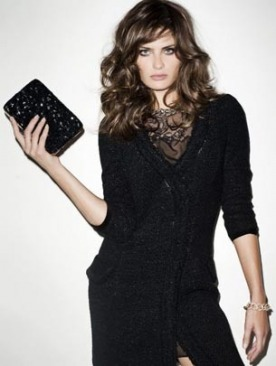 Изабели Фонтана в рекламе Mango осень 2011