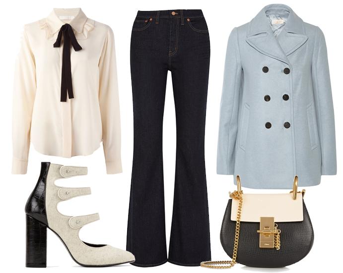 С чем носить джинсы осенью фото