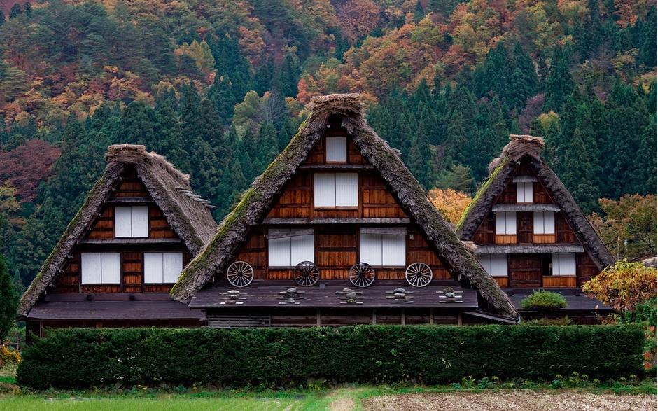 5. Сиракава-Го, Япония