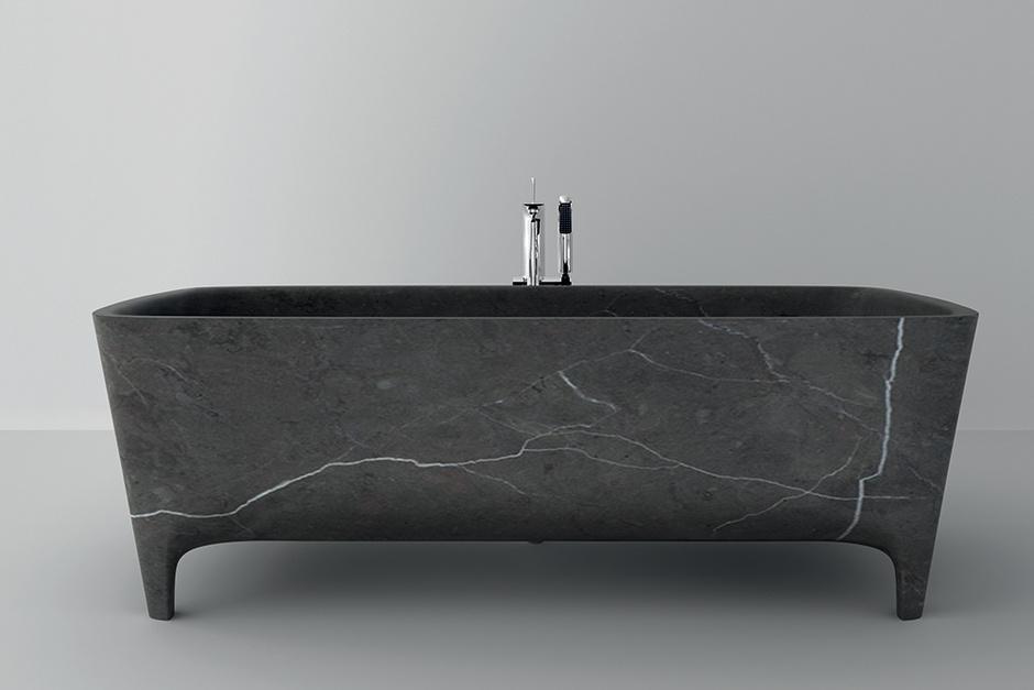 Ванна Accademia, мрамор, дизайн Карло Коломбо для Teuco, www.teuco.com