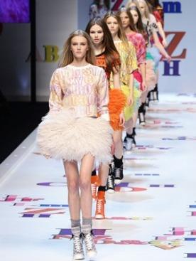 Показ D&G на Неделе Моды в Милане