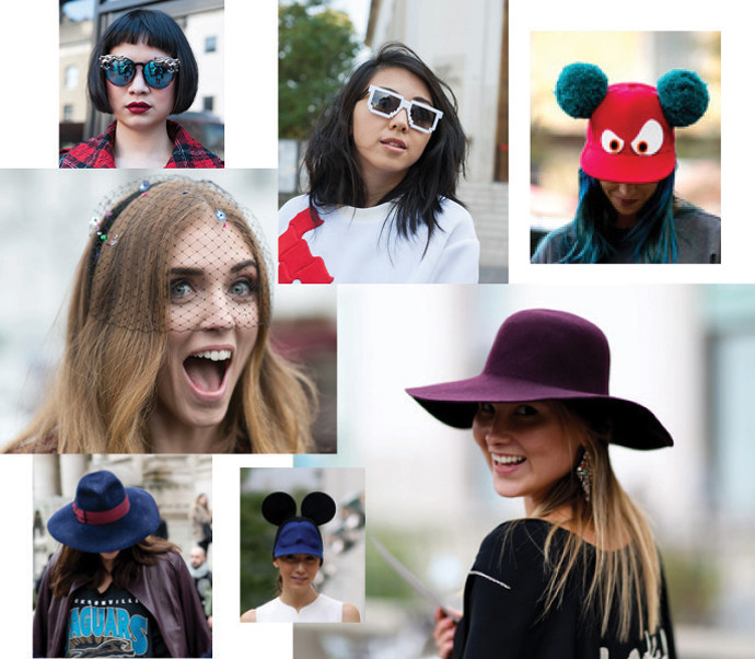Очки и шляпы