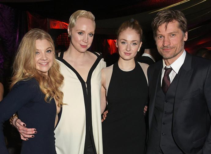 Natalie-Dormer,-Gwendoline-Christie,-Sophie-Turner-and-Nikolaj-Coster-Waldau