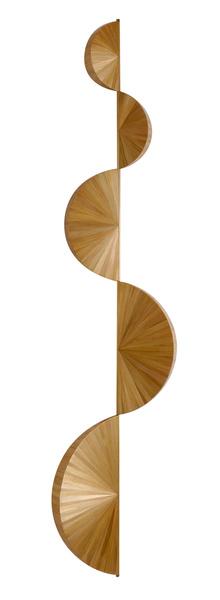 Настенный светильник «Серпантин», маркетри, дизайн Юбера ле Галля, галерея Boccara, 15 000 у.е.
