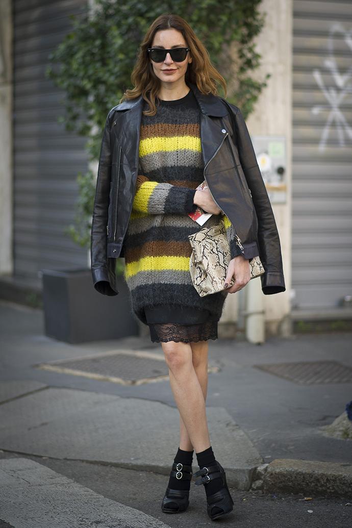 неделя моды в милане стритстайл