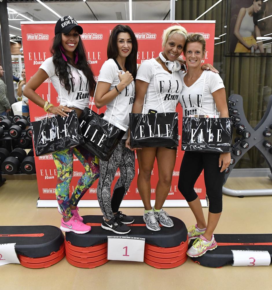 ELLE Night Run впервые прошел в World Class Monaco