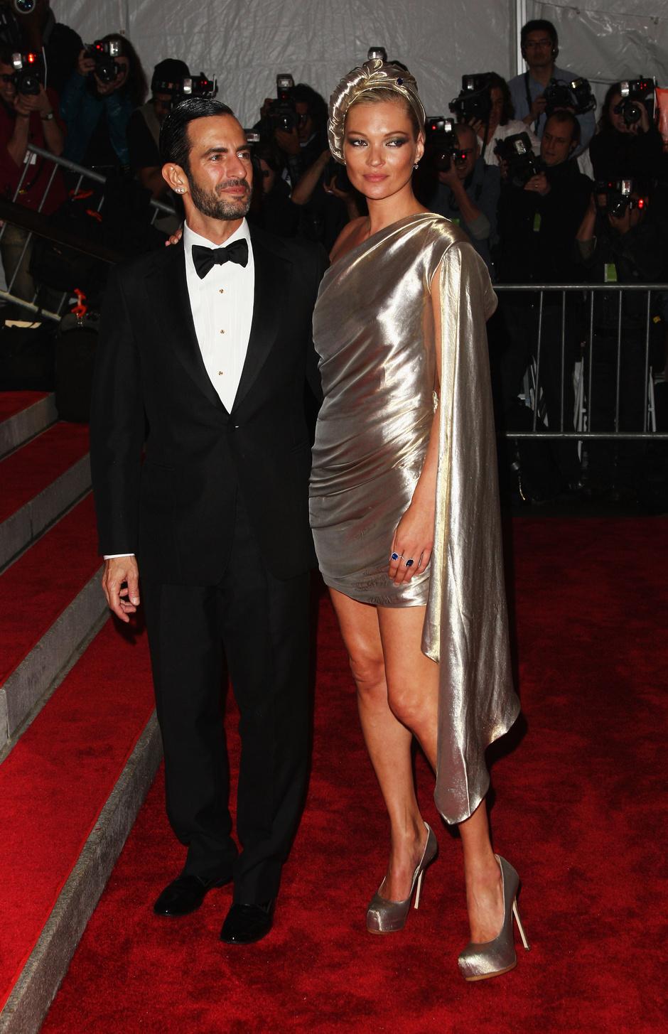 Марк Джейкобс и Кейт Мосс, 2009 год