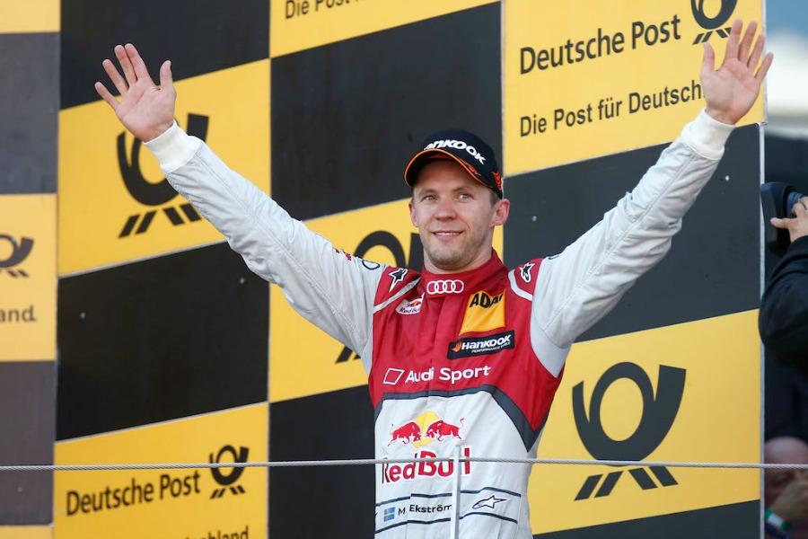 Шведский гонщик Маттиас Экстрем завоевал третье место