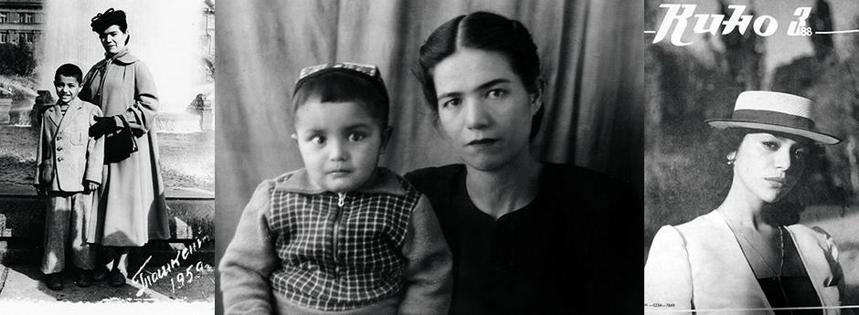Фото из личных архивов Равшаны Курковой