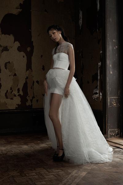 50 самых красивых платьев со Свадебной Недели Моды в Нью-Йорке | галерея [1] фото [8]