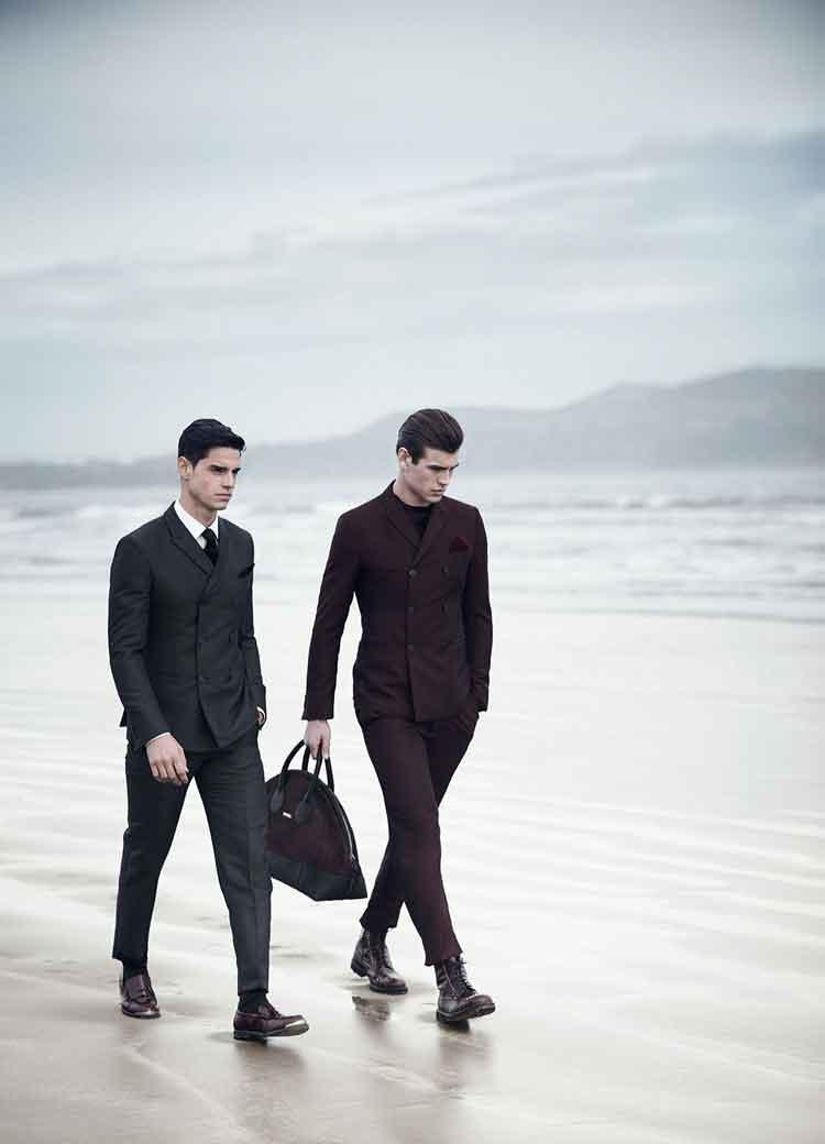 Строгие мужские костюмы: фото